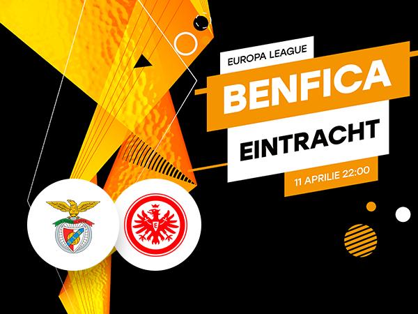 legalbet.ro: Benfica Lisabona - Eintracht Frankfurt: prezentare cote la pariuri si statistici.