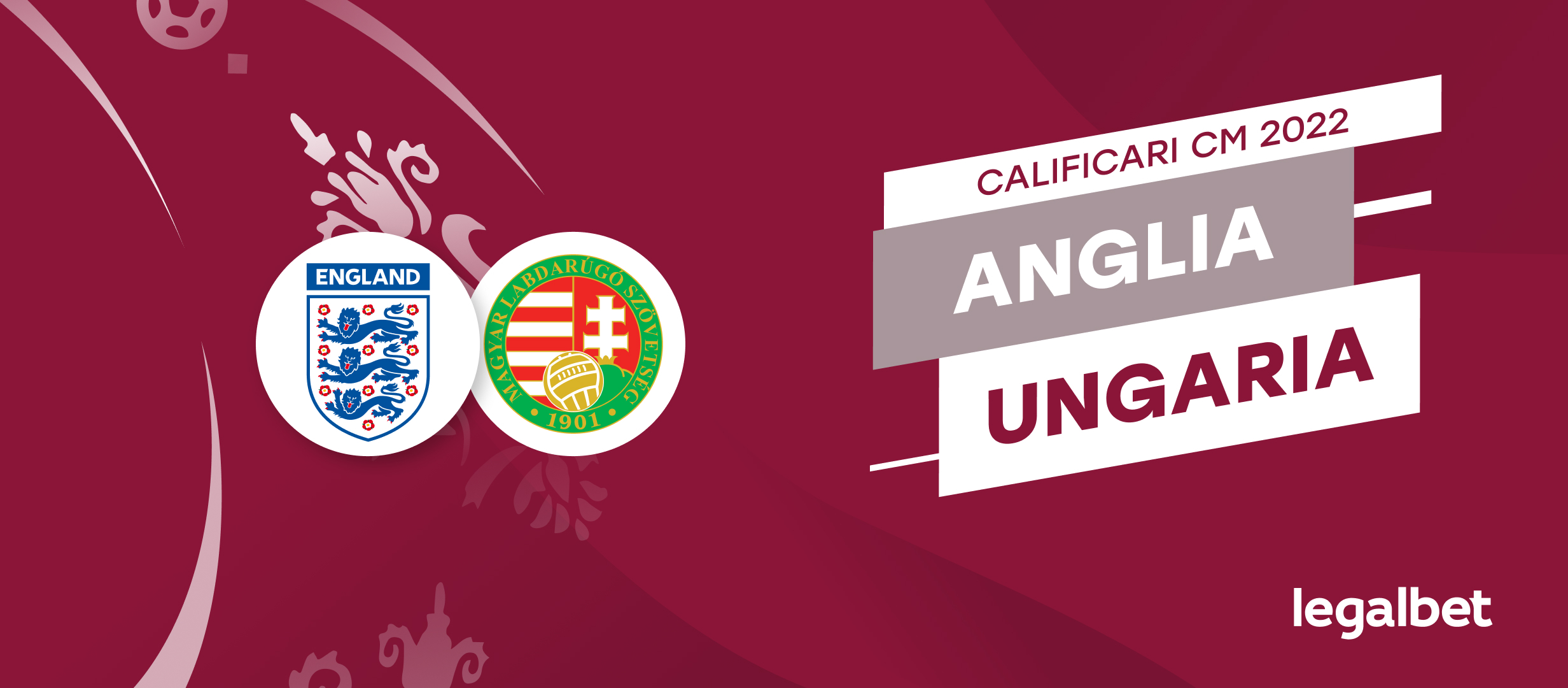 Anglia - Ungaria, ponturi pariuri preliminariile CM 2022