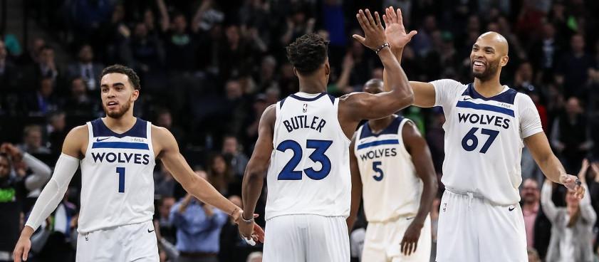 NBA: Los Angeles Lakers - Minnesota Timberwolves 07.04.2018