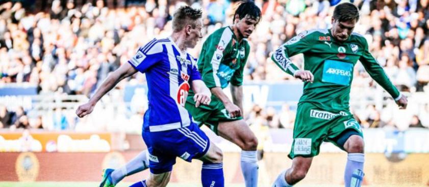 Mariehamn - Inter Turku. Pariul lui Wallberg