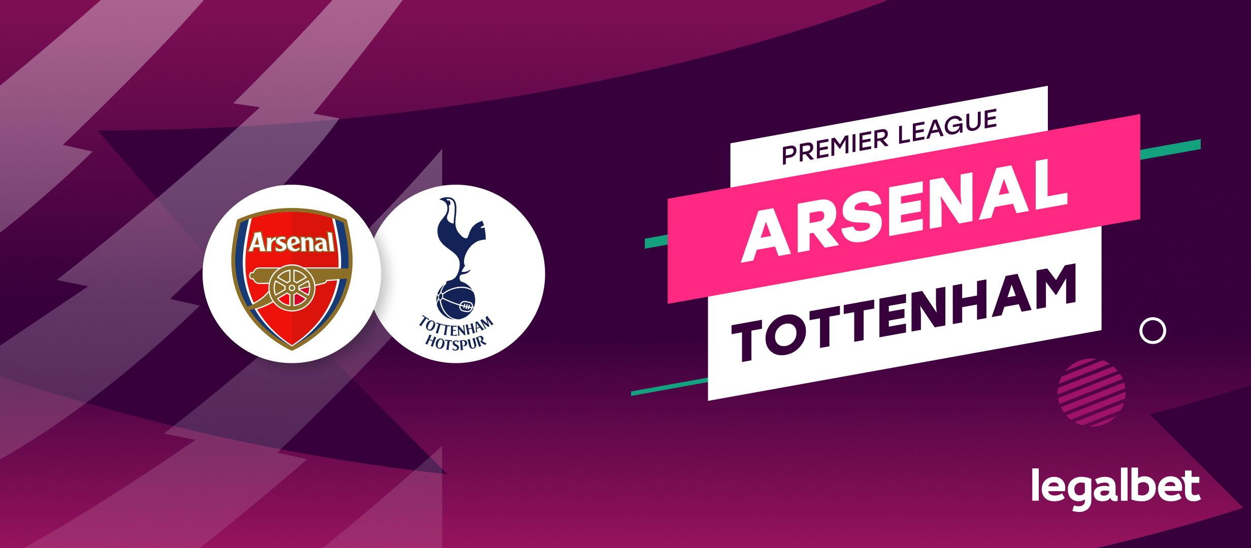 Arsenal-Tottenham: super pont pentru un super derby