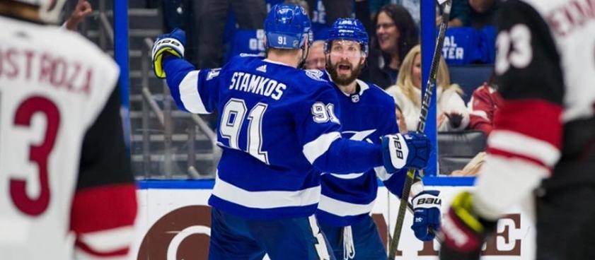 Прогноз на матч НХЛ «Нью-Джерси» - «Тампа-Бэй»: Гусев против Кучерова