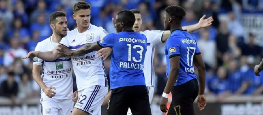 Club Brugge - Anderlecht. Pontul lui IulianGGMU