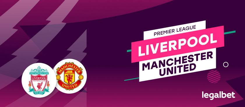 Apuestas y cuotas Liverpool - Manchester United, Premier League 2020/21