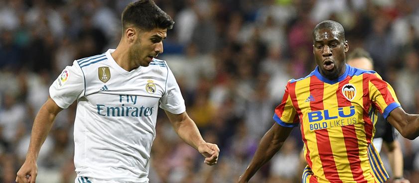 Pronóstico Real Madrid - Valencia, La Liga Santander 2018