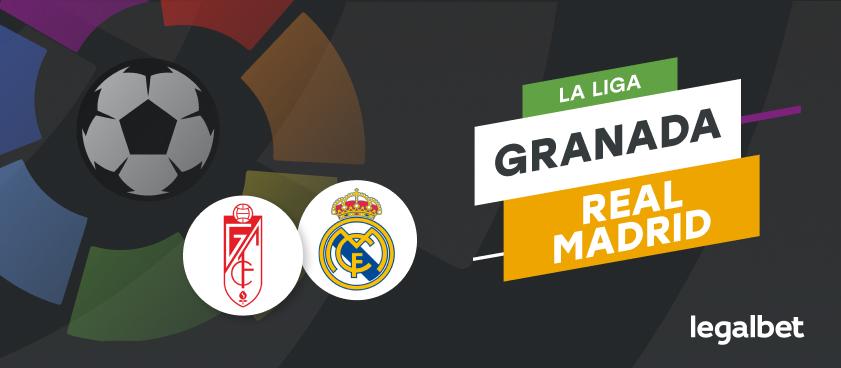 Apuestas y cuotas Granada - Real Madrid, La Liga 2020/21