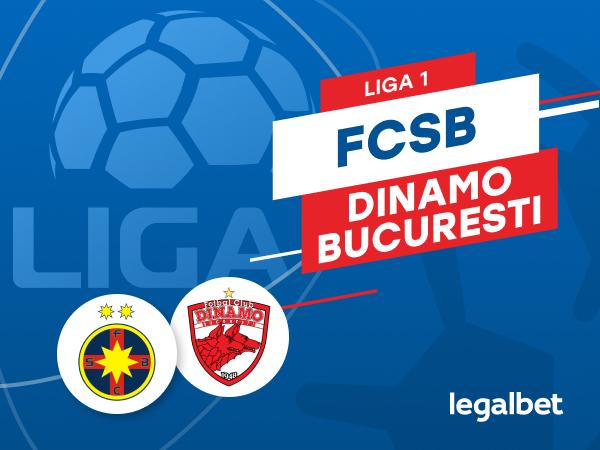 Karbacher: FCSB vs Dinamo: cote la pariuri şi statistici.