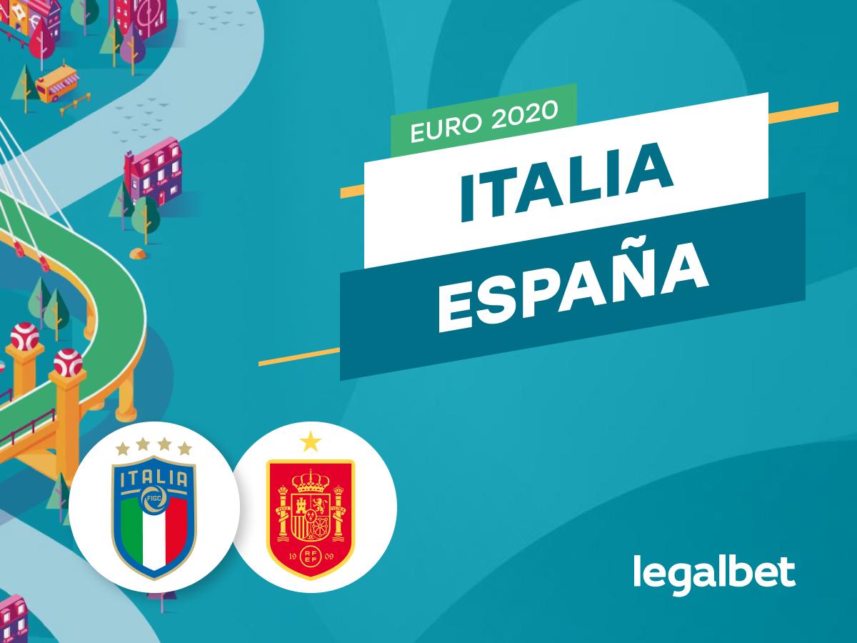 Mario Gago: Apuestas y cuotas Italia - España, Euro 2020.