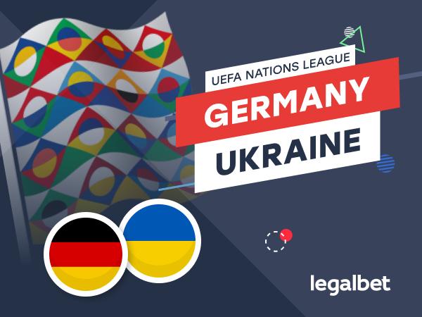 Legalbet.com: Germany vs. Ukraine: Nations League Top Teams Battle for League A Destiny.