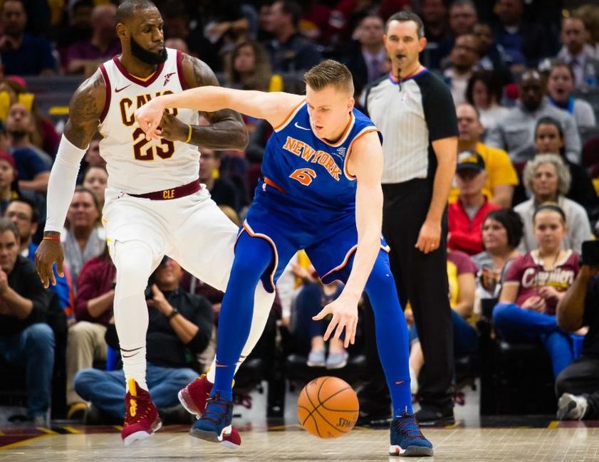 Регулярный чемпионат NBA. Прогноз на матч Нью-Йорк - Кливленд