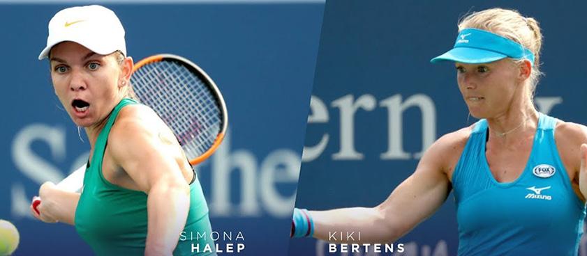 Pontul zilei din tenis 11 mai 2019 Simona Halep vs Kiki Bertens