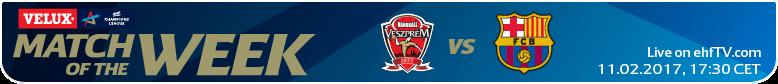 Înfruntarea titanilor... EHF Champions League (m): Veszprem -Barcelona