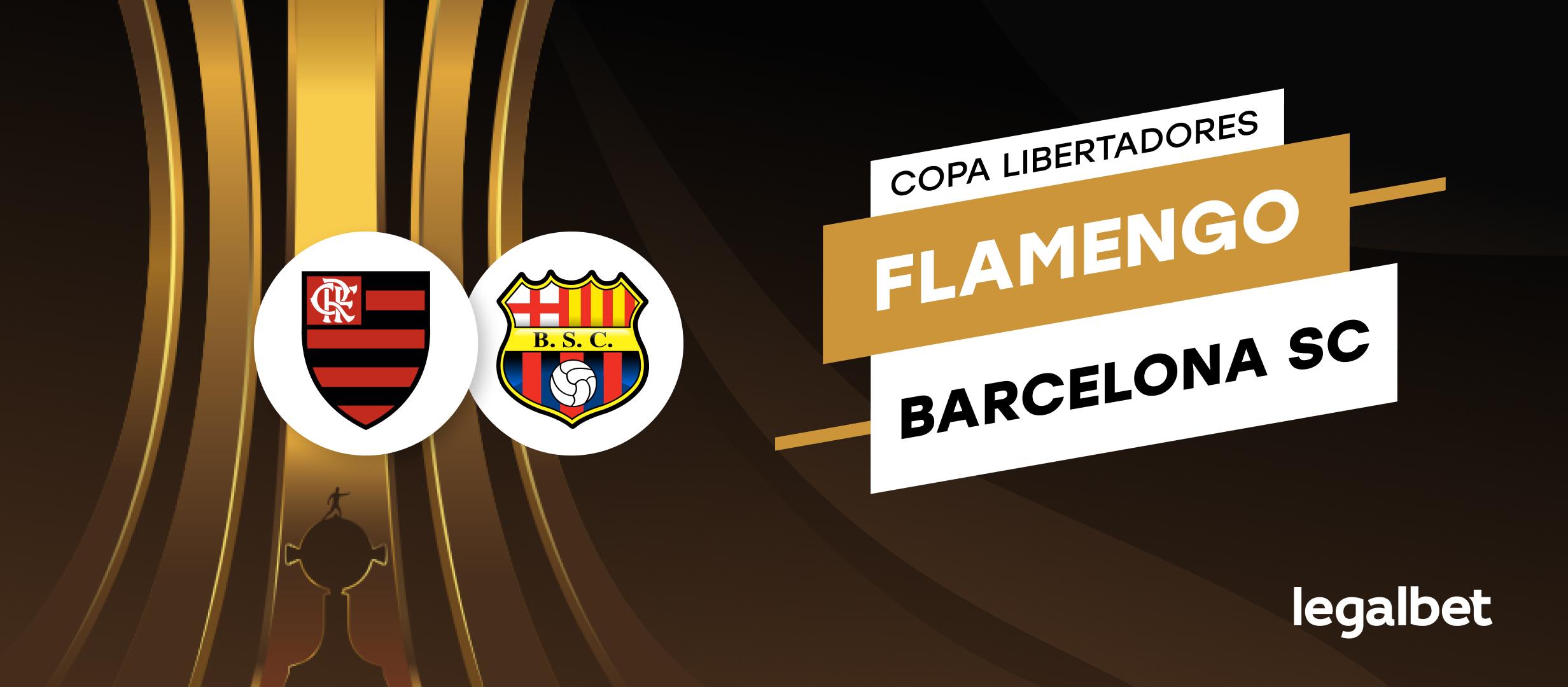 Previa y apuestas, Semifinal de Libertadores Flamengo vs Barcelona