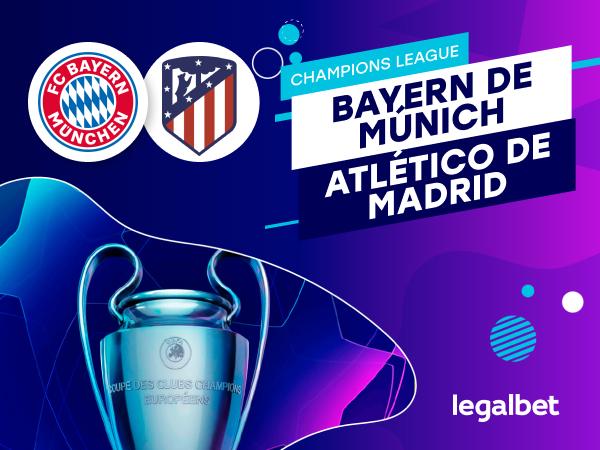 Antxon Pascual: Apuestas y cuotas Bayern de Múnich - Atlético de Madrid, Champions League 2020.