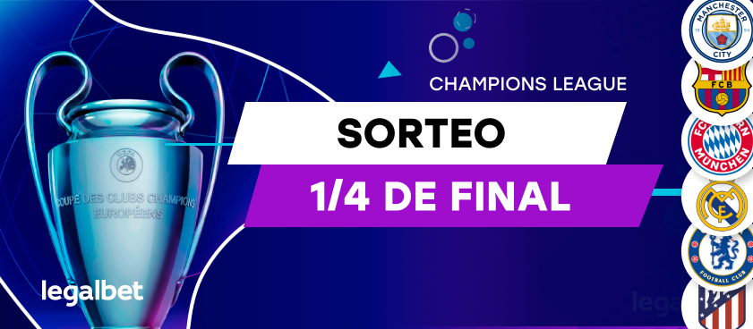 Análisis sorteo cuartos de final Champions League