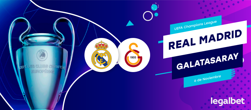 Previa, análisis y pronósticos Real Madrid - Galatasaray, Champions League 2019