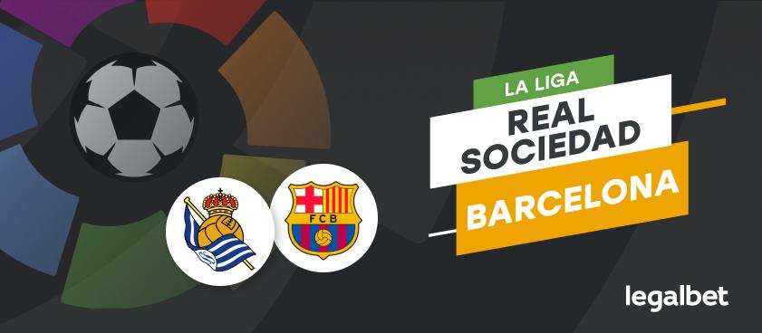 Real Sociedad - Barcelona, ponturi la Liga. Catalanii, de neînvins