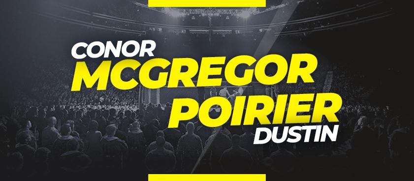 McGregor vs Poirier - Apuestas y cuotas para la pelea UFC 264
