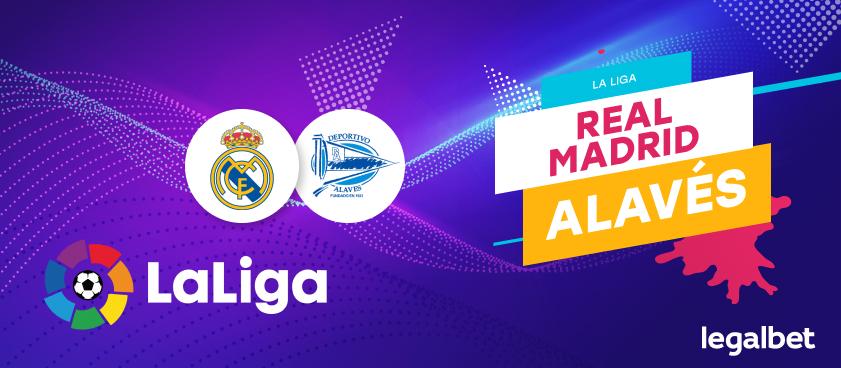 Previa, análisis y apuestas Real Madrid - Alavés, La Liga 2020