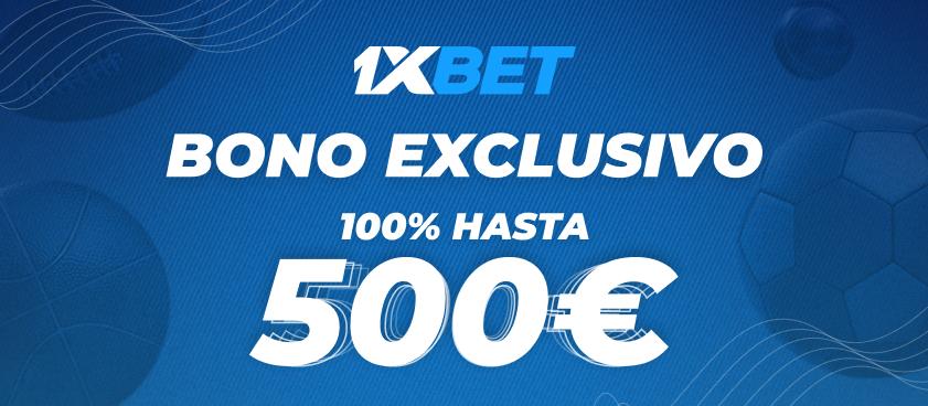 ¡1xBet nos trae en exclusiva el mejor bono de España!