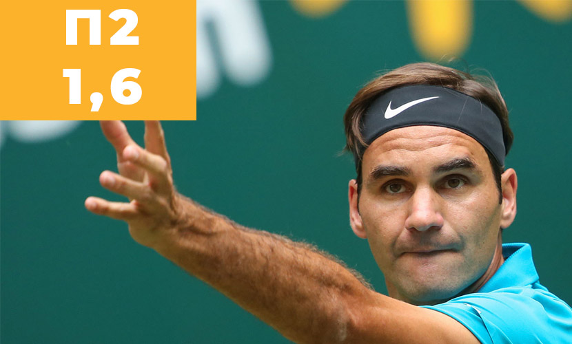 Теннис. Турнир ATP. Рим. Чорич - Федерер