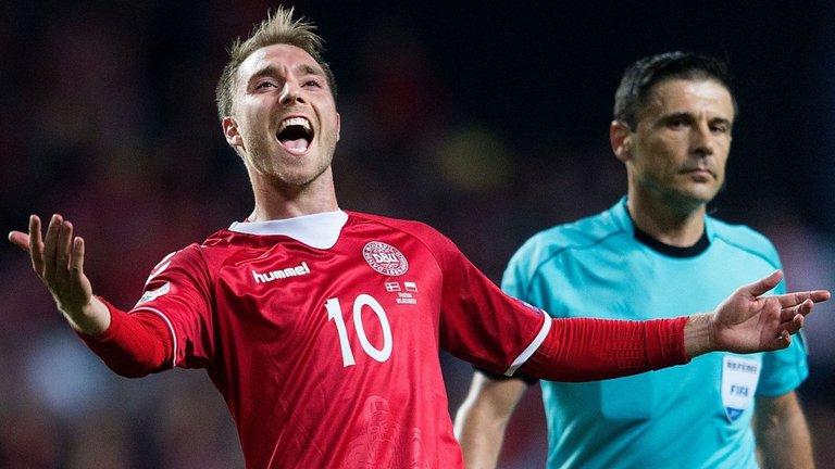Прогноз на матч квалификации ЧМ Дания - Ирландия