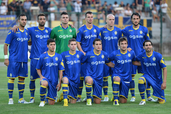 Футбол, Италия, Серия B, Верона - Навара.