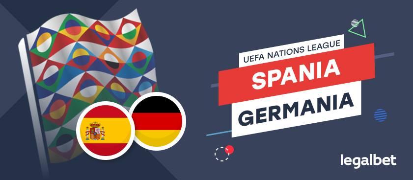 Spania - Germania: ponturi pariuri pentru un meci glorios