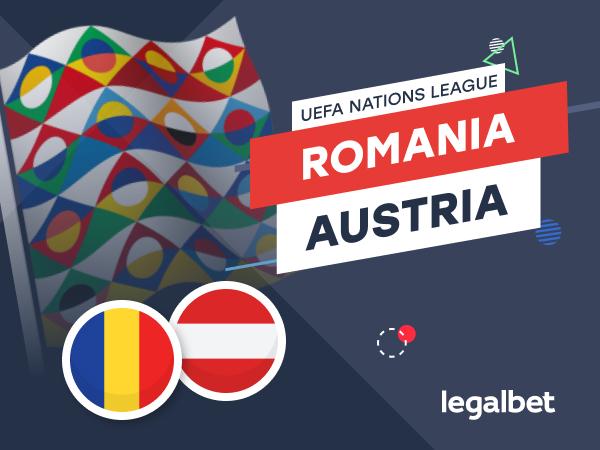 Karbacher: România - Austria: cote la pariuri şi statistici.