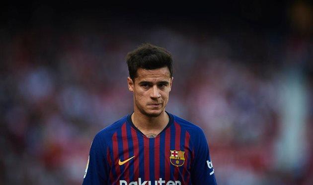«Барселона» готова продать Коутиньо