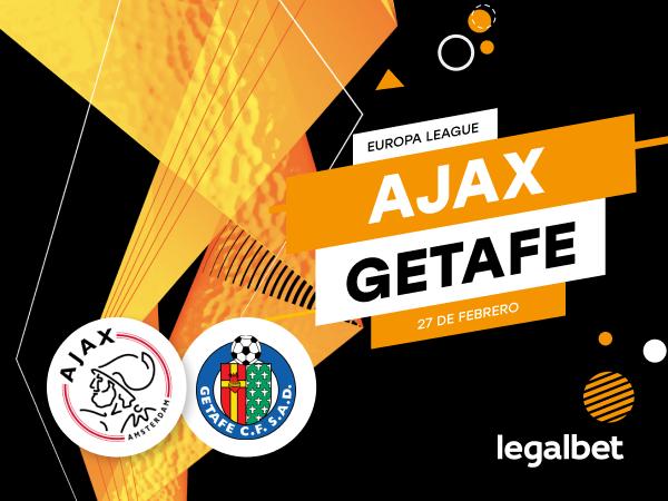 Antxon Pascual: Previa, análisis y apuestas Ajax - Getafe, Europa League 2020.