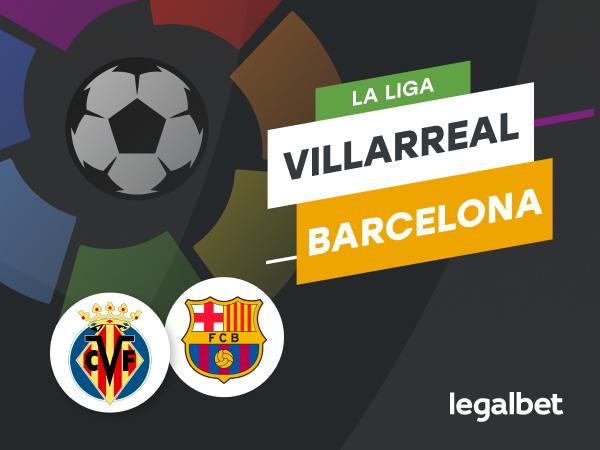 Antxon Pascual: Apuestas y cuotas Villarreal - Barcelona, La Liga 2020/21.