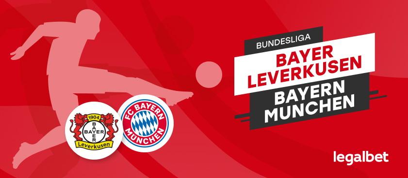 Bayer Leverkusen – Bayern Munchen: ponturi pentru un super meci