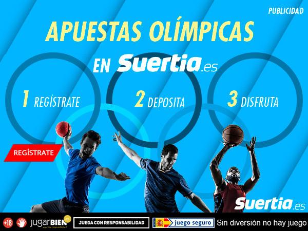 Legalbet.es: ¡Apuestas Olímpicas en Suertia.es!.
