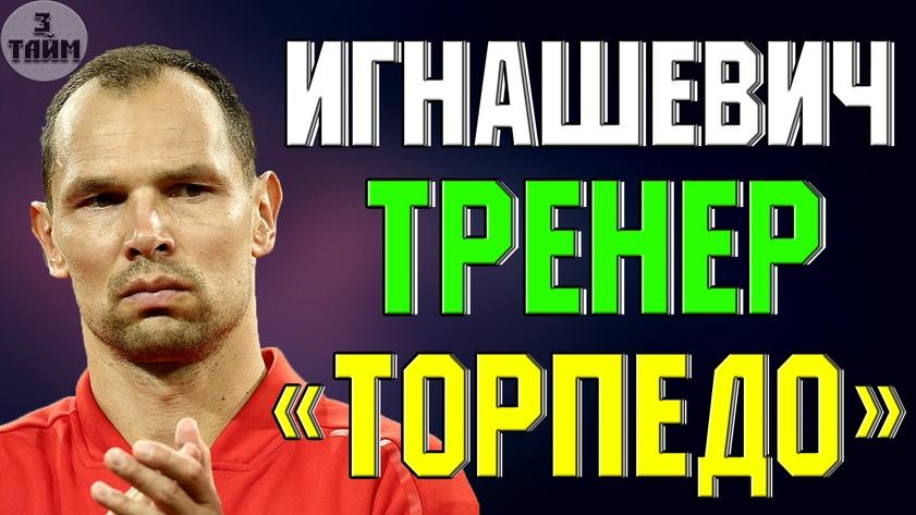 Сергей Игнашевич возглавит московское Торпедо