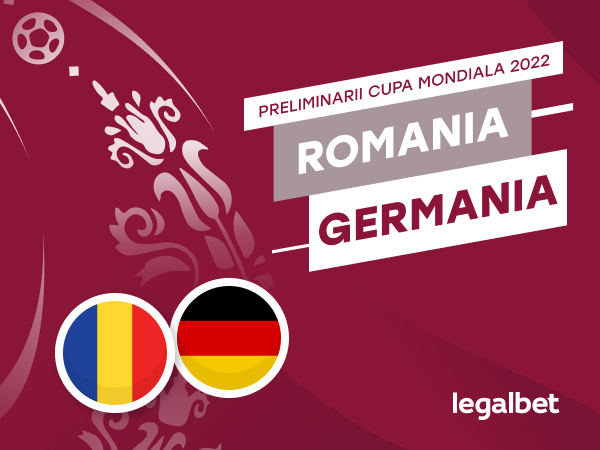 Karbacher: România - Germania: cote la pariuri şi statistici.