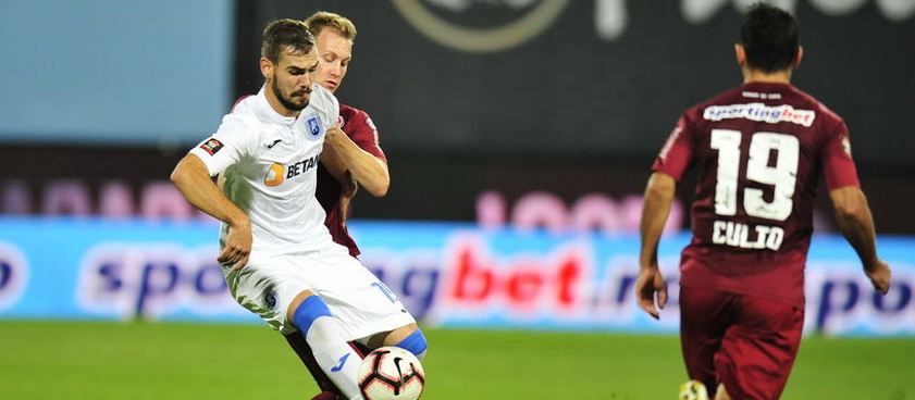Universitatea Craiova - CFR Cluj: Predictii Pariuri Liga 1 Betano