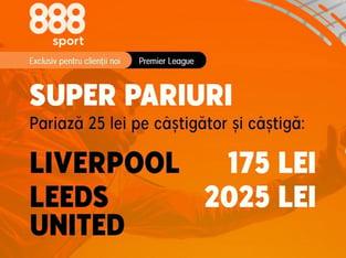 Karbacher: Aşteptarea a luat sfârşit, revine Premier League! Nu rata promoţiile magice de la 888 Sport!.