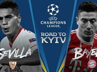 legalbet.ro: FC Sevilla - Bayern München: prezentare cote la pariuri şi statistici.