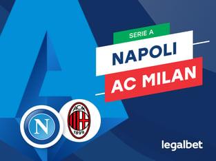 Mario Gago: Apuestas y cuotas Napoli - AC Milan, Serie A 2020/21.