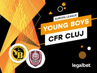 Karbacher: CFR Cluj - Young Boys Berna: cote la pariuri şi statistici.