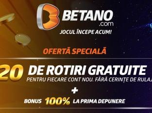 legalbet.ro: Ai doua promotii beton la Betano pana pe 31.10.2020.