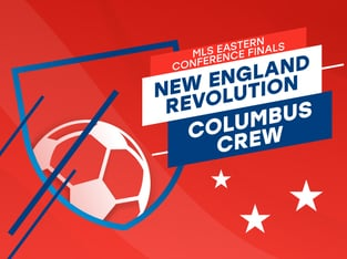 Legalbet.com: MLS Playoffs Eastern Conference Final: Columbus vs. New England.