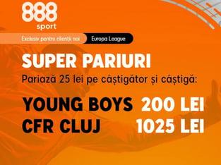 legalbet.ro: CFR are o cotă uluitoare pentru o victorie în Elveţia cu YB!.
