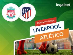 legalbet.ro: Liverpool vs Atletico Madrid: cote la pariuri si statistici.
