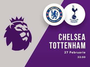 legalbet.ro: Chelsea - Tottenham: prezentare cote la pariuri si statistici.