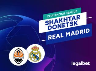 Antxon Pascual: Apuestas y cuotas Shakhtar Donetsk - Real Madrid, Champions League 2020/21.