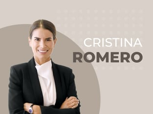 "Cristina Romero: Cristina Romero: ""Una cosa que siempre recomendamos a nuestros clientes: el 'act global think local' ""."