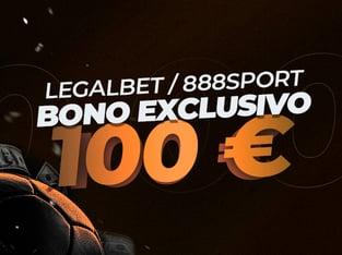 Legalbet.es: ¡Nuevo bono de bienvenida exclusivo en 888Sport!.