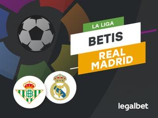 Antxon: Apuestas y cuotas Real Betis - Real Madrid, La Liga 2020/21.